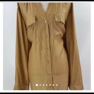 Long charter club blouse